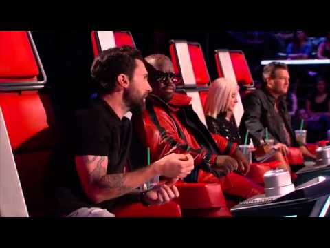 The Voice US 5  hit' em up style  oops! )   Nic Hawk