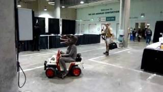 Comikaze Expo 2011 Day 2 Jurassic Park Mayhem Clip 2