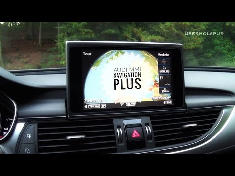 Audi MMI Navigation Plus (Audi A6 C7) Test/Ergänzungsvideo
