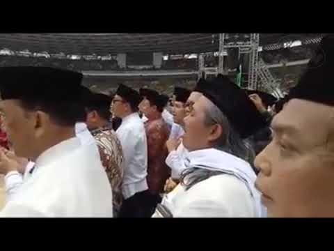 Detik2 Kehadiran Jokowi Di GBK Saat Harlah Muslimat Ke 73 Tahun 2019
