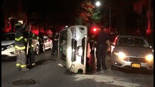 Vehicle rollover in Brooklyn | NYC911News