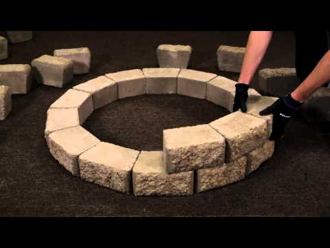 How To Install A Hudson Stone™ Fire Pit Kit