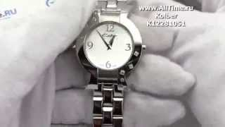 Обзор. Женские наручные часы Kolber K12281051