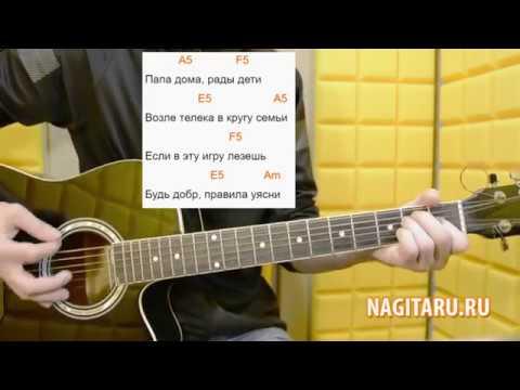 "Современная песня в 3 аккорда! Макс Корж - ""Шантаж"". Аккорды в Am, слова, разбор | Nagitaru.ru"