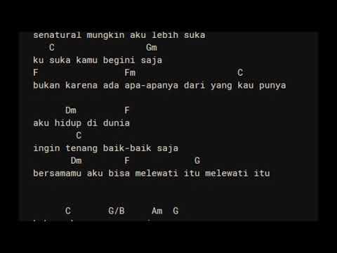 D'Masiv - Natural Chord Lirik