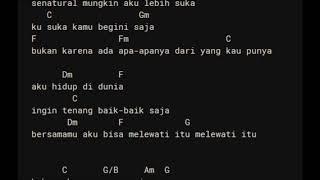 [1.34 MB] D'Masiv - Natural Chord Lirik