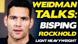 Chris Weidman Considering Move to 205 if Things Don't Change in Middleweight Title Picture