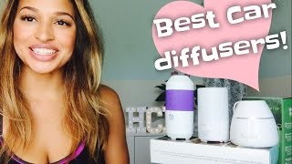 The Best Car Essential Oil Diffuser, The BEST travel essential oil diffusers!