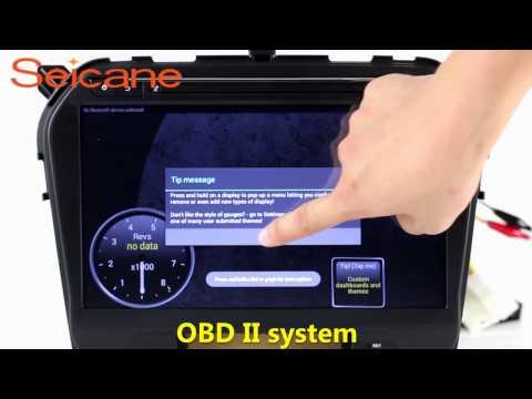 10.2 inch 2015 2016 SUZUKI VITARA 2 din radio auto A/V stereo removal with SWC OBD2