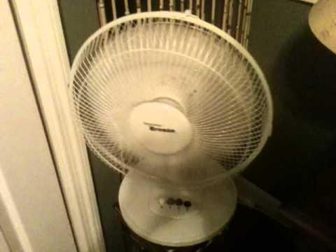 Elegant Hawaiian Breeze Table Fan