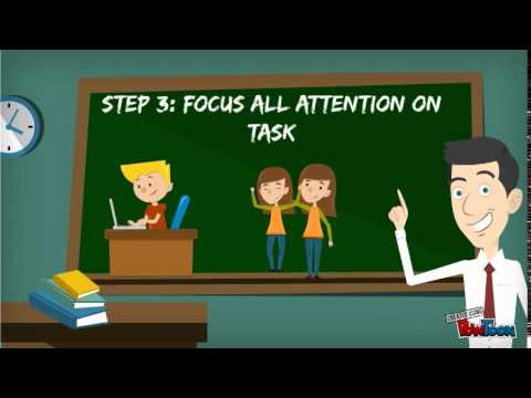 pbis skill staying on task youtube
