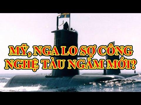 Bất ngờ Mỹ lo sợ trước công nghệ tàng hình tàu ngầm không phải từ Nga!