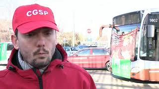 Grève nationale : transports, magasins, piquets de grève... le point sur la situation à Bruxelles