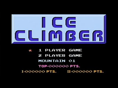 Ice Climber - NES Gameplay