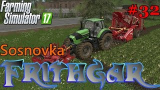 Let's Play Farming Simulator 2017, Sosnovka #32: Exploring New Fields!