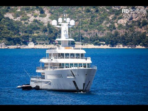 Larry Ellison and his Crazy US$ 130 Million Luxury Yacht