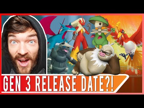 WHEN IS GEN 3 RELEASE DATE?! POKEMON GO UPDATE NEWS LIVE CHAT!