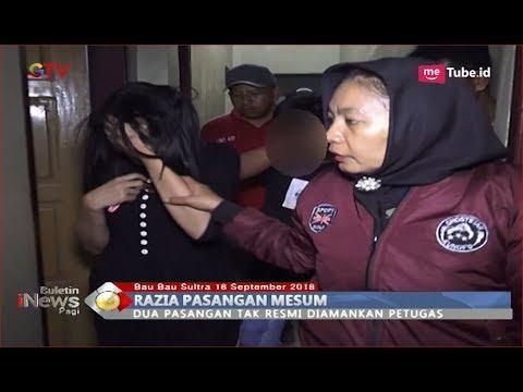 Petugas Satpol PP-Polri Kota Baubau Amankan 2 Pasangan Mesum Di Hotel - BIP 19/09