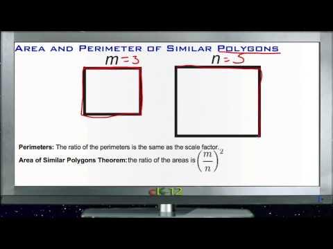 Area and perimeter of similar polygons ck 12 foundation area and perimeter of similar polygons principles basic ccuart Choice Image