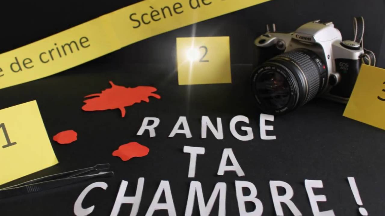 Range ta chambre kit sc ne de crime youtube for Range ta chambre