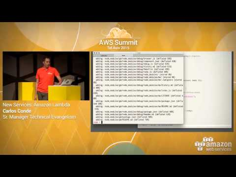 AWS Summit Tel Aviv 2015 | Amazon Lambda Demo