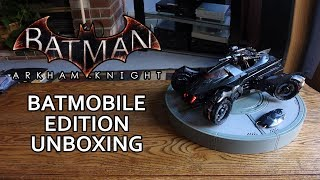 Batman Arkham Knight CANCELLED Batmobile Edition Unboxing & Review