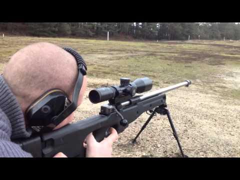 UK Rifle shooting. Longmoor range 3.