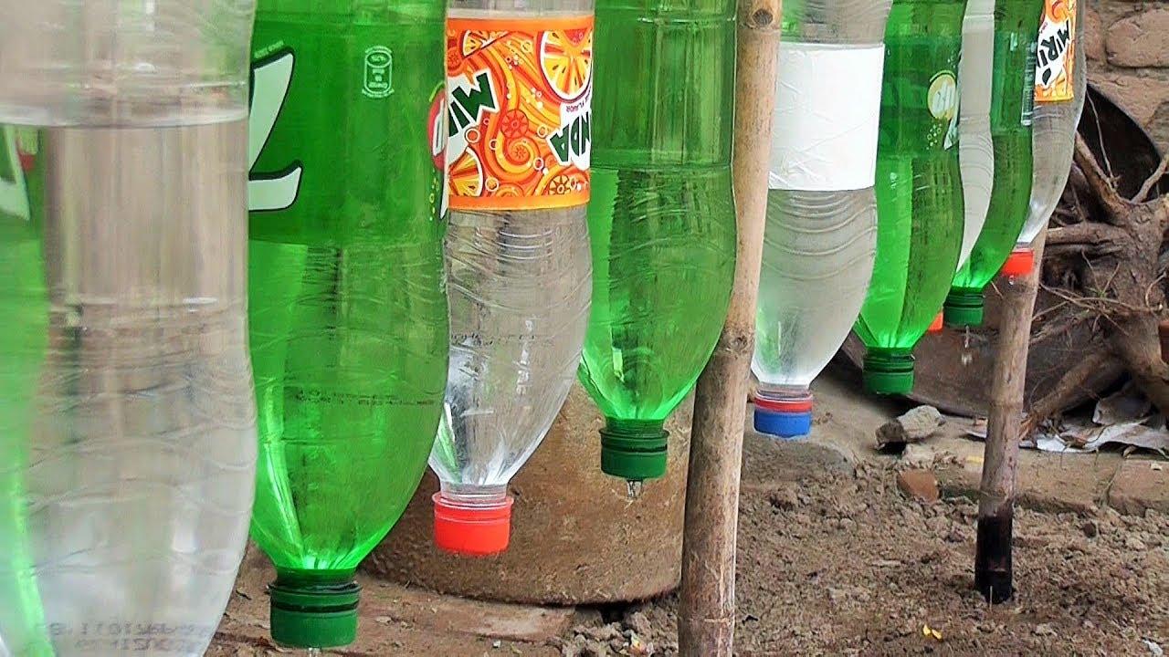 Plastic Bottle Drip Water Irrigation