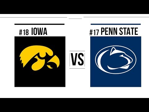 Week 9 2018 #18 Iowa vs #17 Penn State Full Game Highlights