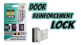 2019 Best - Prime Line Products U 10827 Door Reinforcement Lock