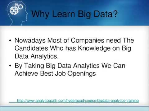 Big Data Analytics Training in Hyderabad 1