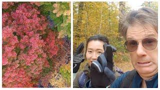 Autumn Vlog | How to Make Easy Tea Eggs | Travel Thermos for tea brewing | Algonquin Park | ZhenTea