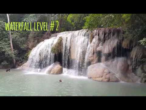 KANCHANABURI Day 2 | Natural Fish Spa |  Erawan Waterfall |