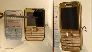 Unboxing phone of 2009 the Nokia E52  _ Unboxing Nokia E52 _ ASMR Unboxing