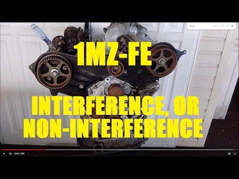 2000 avalon interference engine
