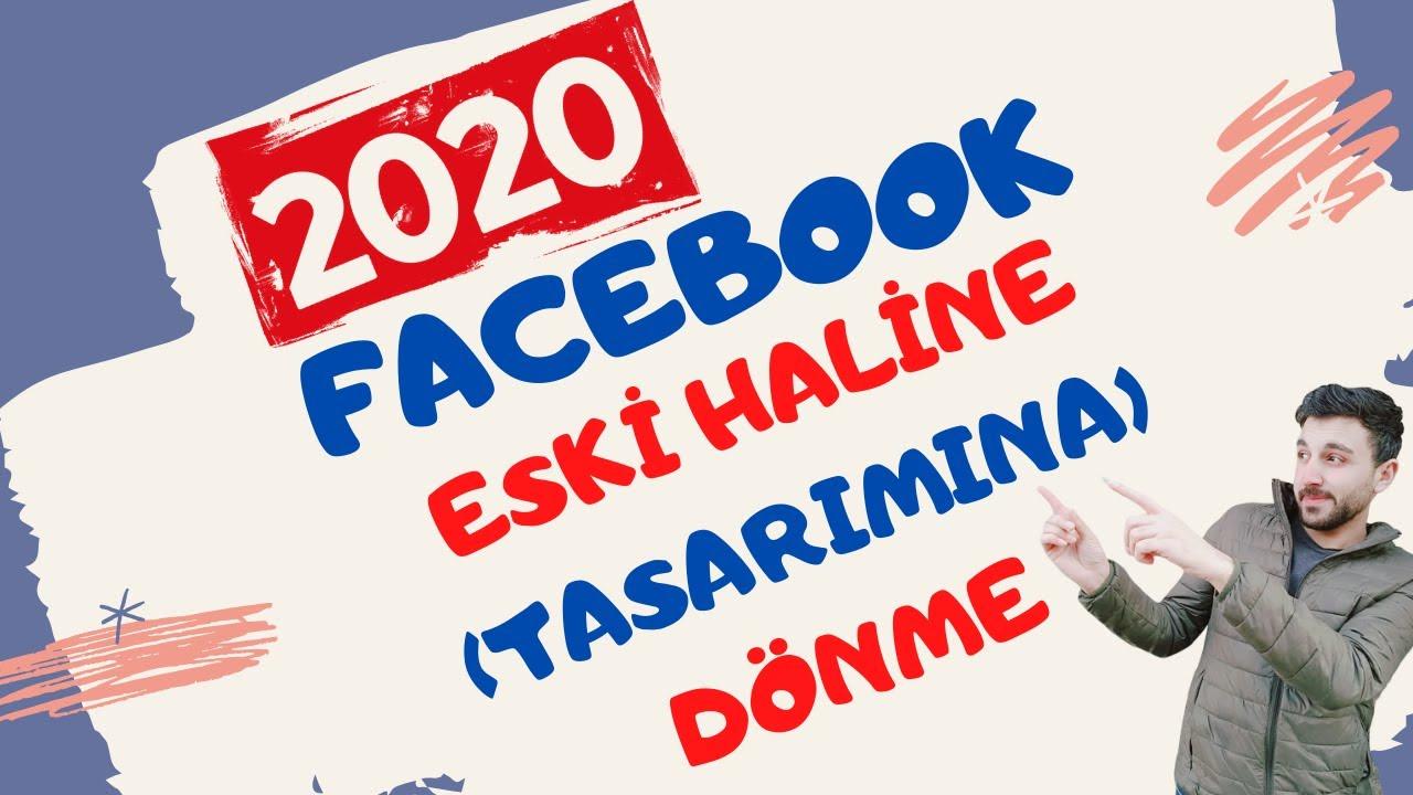 Facebook Eski Sürüm ve Yeni Sürüme Nasıl Geçilir (Eski tasarıma dönme)[2020]