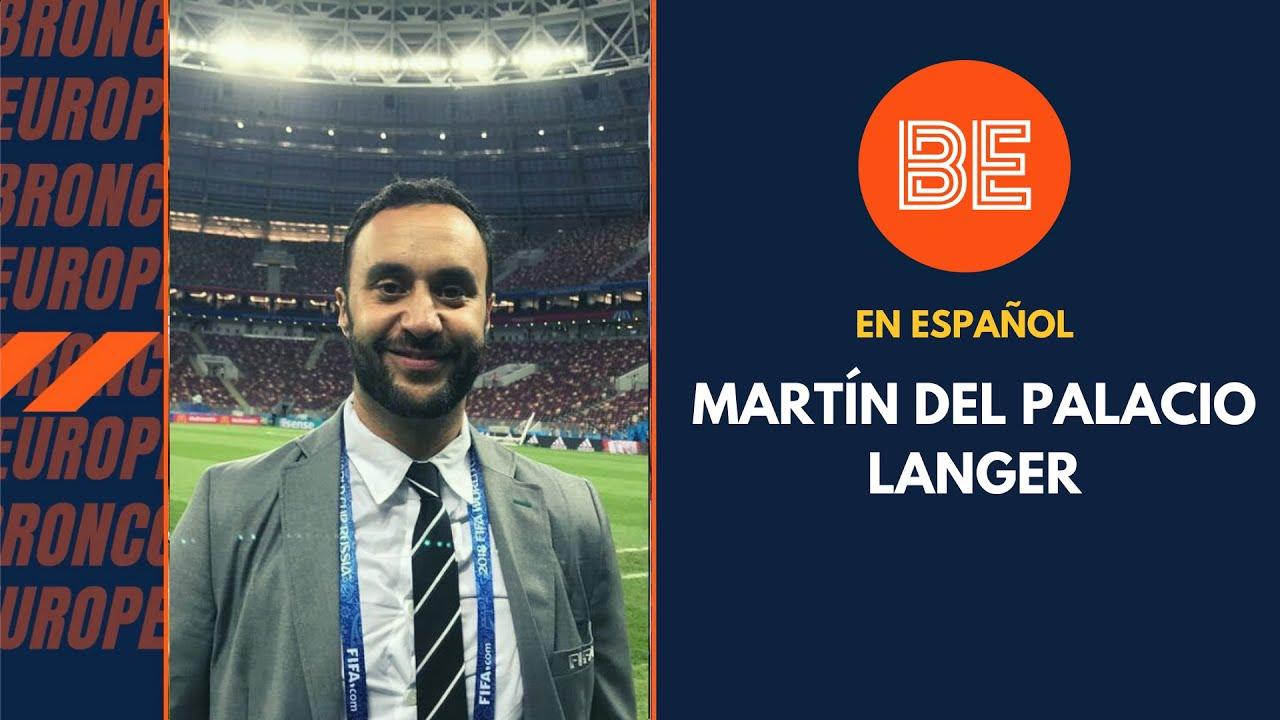 Charla con Martín del Palacio - Host de #TrendZone en español para la NFL - BE en ESP
