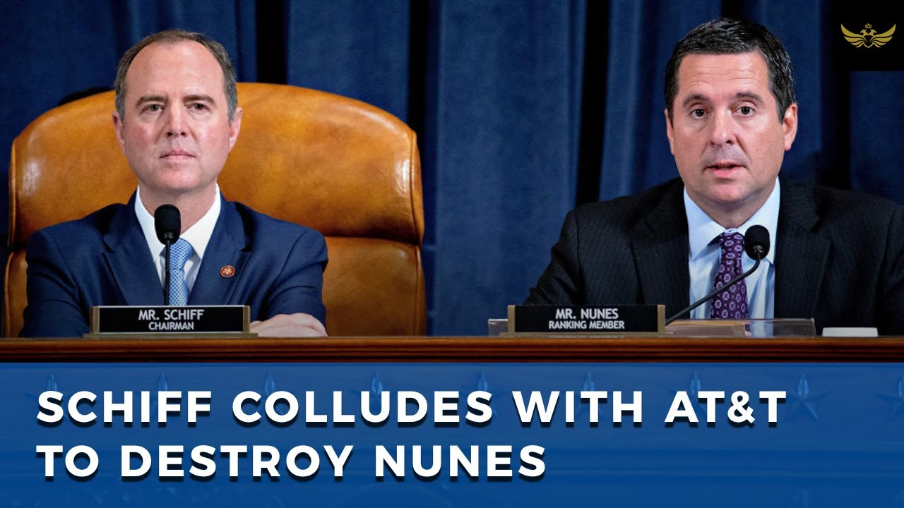 Schiff colludes with CNN parent company ATT. Releases call logs of Nunes, Giuliani and Solomon
