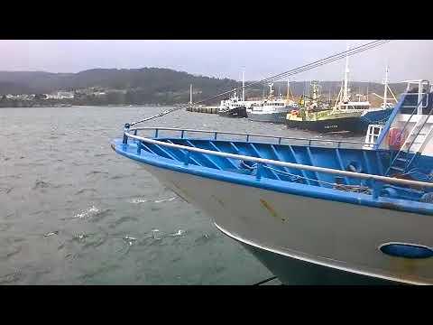 Hugo entra con fuerza en Galicia y obliga a la flota a permanecer en puerto