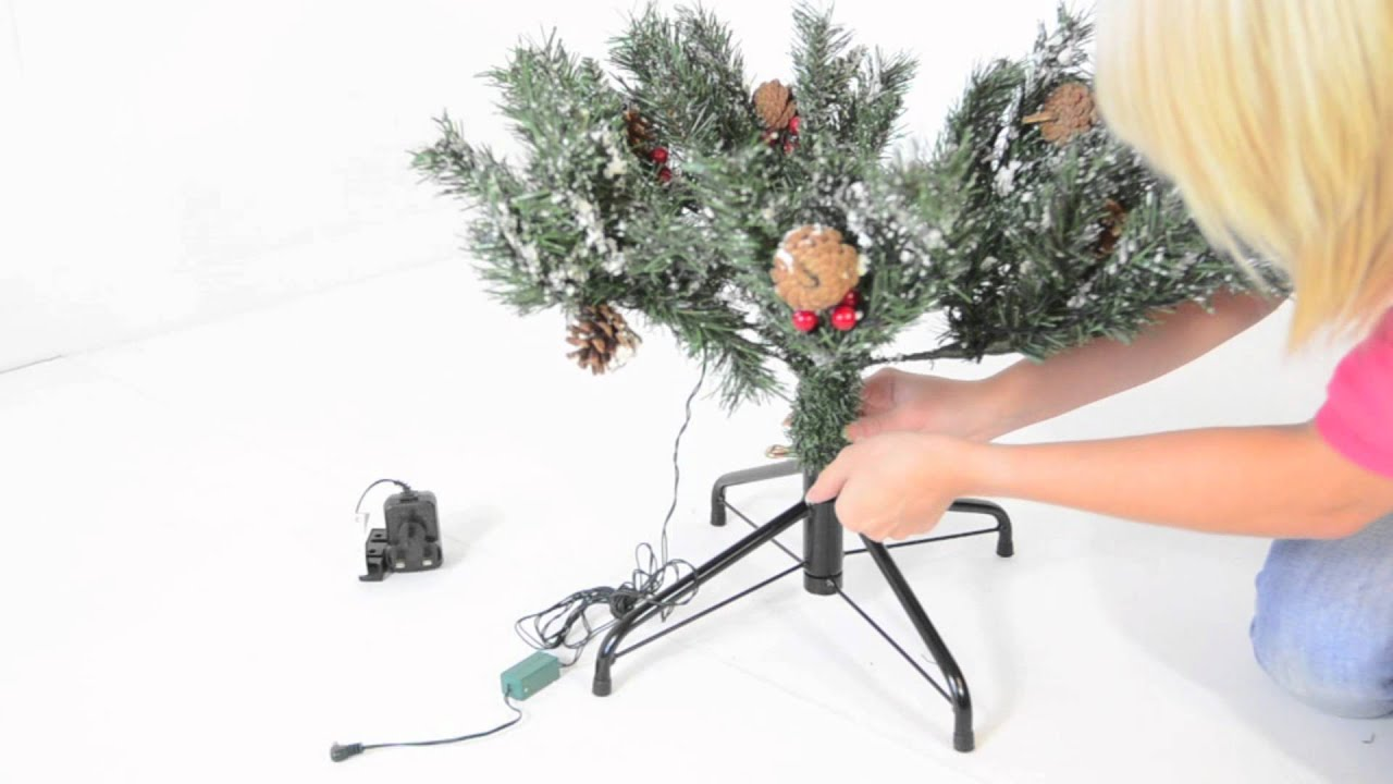 How To Assemble Your 4ft Pre Lit Deluxe Pine Christmas