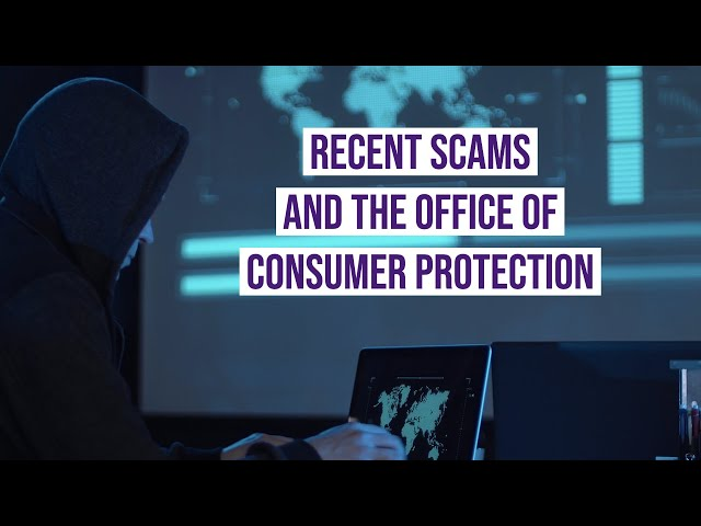 Beware of scams during the COVID-19 pandemic
