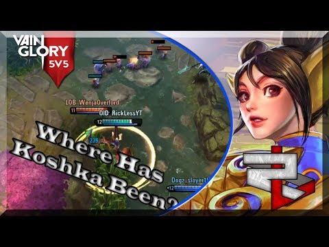 3.6 Vainglory 5v5 Ranked: Jungle Koshka: So Hard Getting Everyone To Stay Together!! Stress!