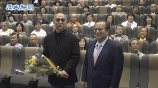 水戸市出身の映画監督、小泉尭史(たかし)さん(69)が26日、新作「蜩...