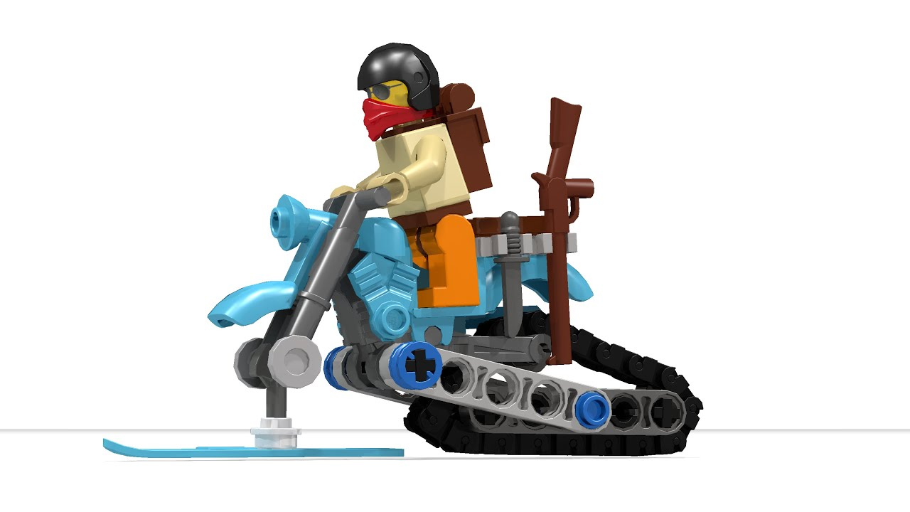 How To Build A Lego Snowmobile