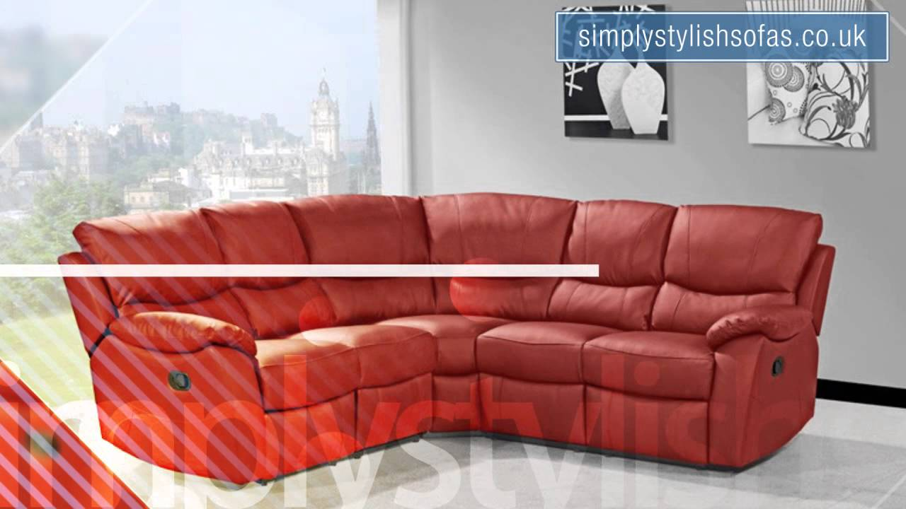 Simply Stylish Sofas Quality Leather and Fabric Sofas YouTube