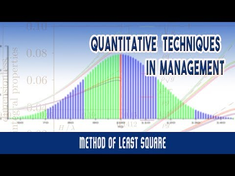 Time Series Analysis | Trend Measurement | Method of Least Square | Measurement of Secular Trend