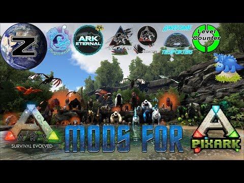 Ark Mods for PixARK! PixARK Gameplay 2018!!! - YouTube