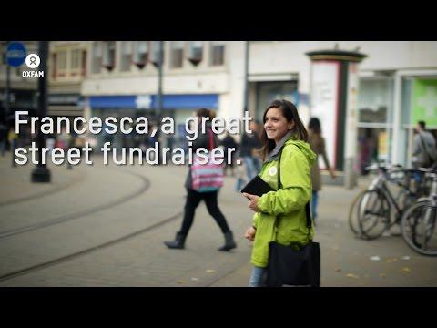 Meet Francesca, our great street fundraiser | Oxfam GB