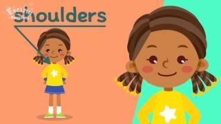 Học từ vựng tiếng anh trẻ em theo chủ đề: Cơ thể