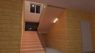 DIALux EVO: ВИО №20 Создание лестницы